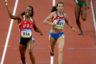 Russia's Ana Kapachinskaya was retroactively disqualified from the 2008 relay final. Photo / AP