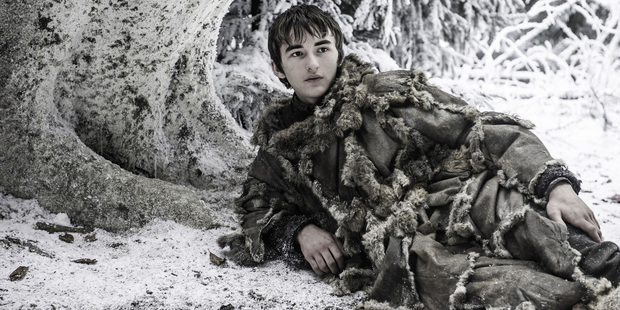 Isaac Hempstead as Brandon 'Bran' Stark in the television series Game of Thrones. Photo / AP
