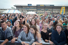 Crowds at the main stage of this year's first Bay Dreams Music Festival. A second concert has just been announced to take place at Mount Maunganui on January 2, 2017. Photo/file