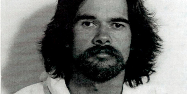 The 1997 police mugshot of Benjamin Nathan after he smashed the America's Cup.