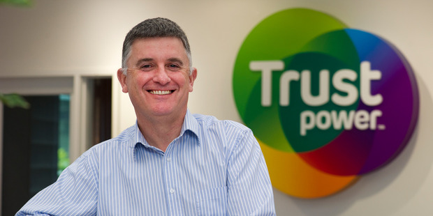 Vince Hawksworth, CEO of Trustpower. Trustpower indicated to the Commerce Commission it intends to plead guilty to breaching the Fair Trading Act. Photo / File