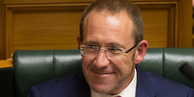 Labour leader Andrew Little questions the role of the Attorney-General in issuing warrants. Photo Mark Mitchell