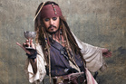 Working with Johnny Depp on Pirates of the Caribbean was a