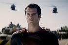 Actor Henry Cavil stars as Superman.