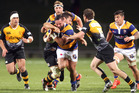 Bay of Plenty Steamers player Joe Royal with the ball during the ITM Cup match between the Bay of Plenty Steamers and Taranaki Bulls at the Rotorua International in 2015. Photo/File
