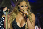 Mariah Carey performing at Vector Arena in 2014. Photo / NZ Herald.