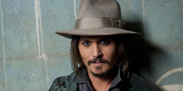 Actor Johnny Depp.