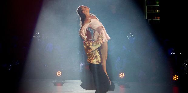 Loading DANCE: Brent Park lift's Kyra Dawson on the big night. PHOTO/STEPHEN PARKER