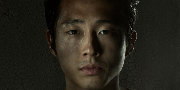 Could Glenn be the one to say goodbye in season 7? Photo / AMC