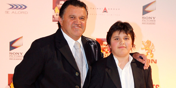 Pio and Teina Terei pictured at the 2011 premiere for the Billy T James movie. Photo / Christine Cornege