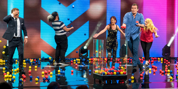 Loading Jason Gunn hosts new televisions series You're Back in the Room NZ, where contestants are hypnotised to do random things.