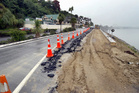 FLASHBACK: February 2010 and SH4 along Putiki Dr was subject to major repairs after a washout.