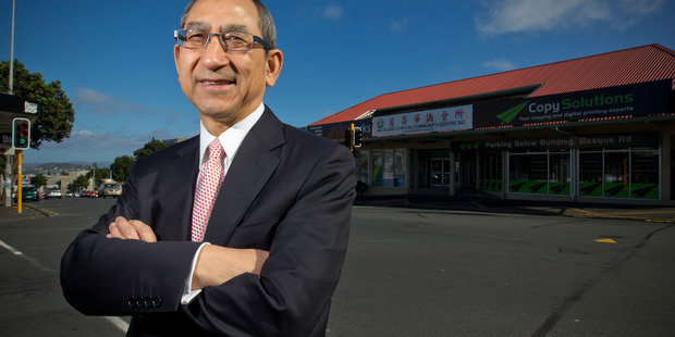 Chinese lawyer Arthur Loo has responded to the comments by a Chinese real estate agent that Auckland is too Chinese. Photo / Greg Bowker