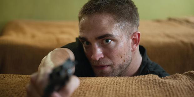 Robert Pattinson in a scene from the movie, The Rover.