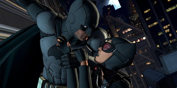 A scene from the game Batman: The Telltale Series.