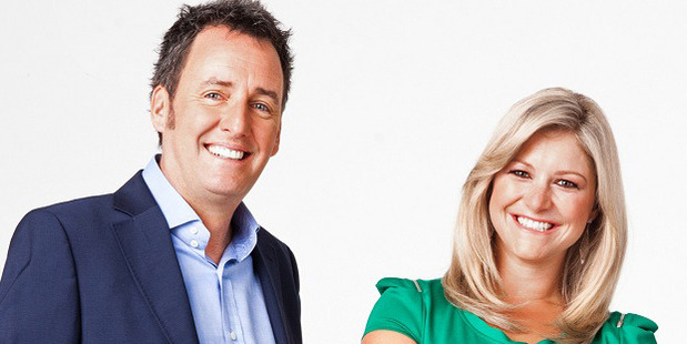 Don't expect co-host Mike Hosking to challenge Toni Street to a spell-off as he is a notoriously terrible speller.