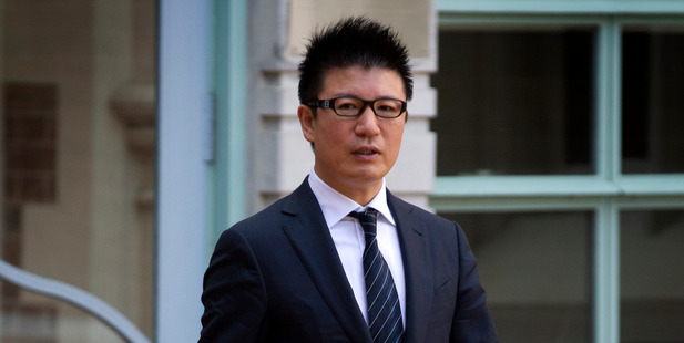 William Yan leaves the Auckland High Court during his 2012 trial. Photo / Brett Phibbs.