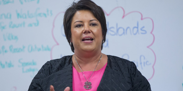 Climate Change Minister Paula Bennett says she wants a cross-party approach to climate change. Photo: Mark Mitchell