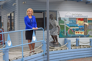 Mount Mainstreet manager Ingrid Fleming is hoping Mount Maunganui will be able to cash in on five overnight cruise ship arrivals this season. Photo/file