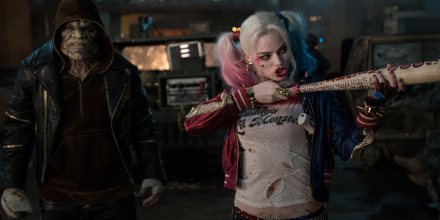 Margot Robbie stars as Harley Quinn in Suicide Squad.