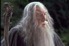 Actor Sir Ian McKellen plays character Gandalf in Lord of the Rings