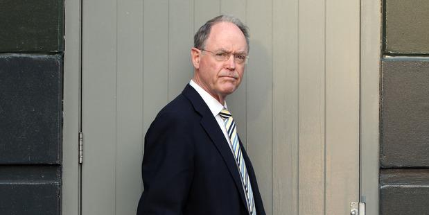Don Brash - a tall politician. Photo / Janna Dixon
