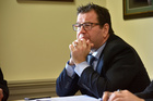 Labour's finance spokesman Grant Robertson has accused the Government of manipulating unemployment statistics. NZ Herald Photo by Marty Melville.