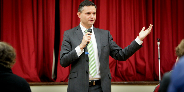 Green Party leader James Shaw, whose party has received $280,000 from a supporter it never knew it had. Photo / Warren Buckland
