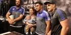 Watch: All Blacks fan signing in Sydney