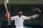 Sri Lanka's Kaushal Silva has broken a horrendous streak of batting form to put Sri Lanka in control of the third test against Australia. Photo / AP