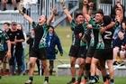 Baywide secondary schools final Te Wharekura o Mauao v Western Heights First XVs at Blake Park. Photo/George Novak