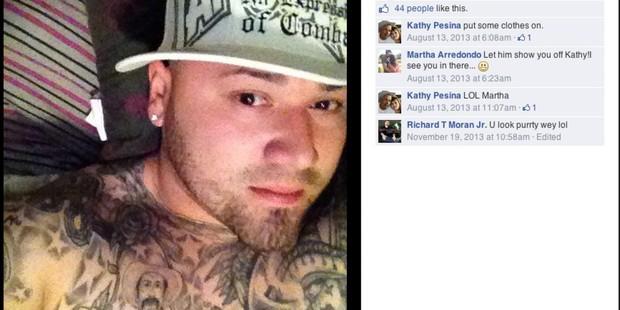 Photos from police officer Julian Pesina's Facebook page. Photo / The Washington Post / San Antonio Express-News