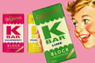The new K Bar chocolate will be available on Monday.