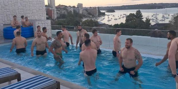 The All Blacks' new training location is looking pretty ideal.