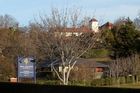 Iona College, Havelock North, is closed, along with all other schools in the area. Photo / Duncan Brown