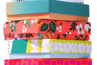 Birchbox ships its subscription products in colorful cardboard as a way of distinguishing their goods.