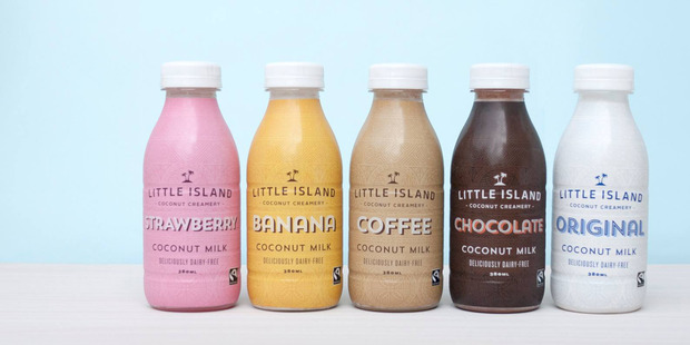 Tommy Holden and James Crow started up Auckland-based Little Island Coconut Creamery in 2010. Photo / Facebook