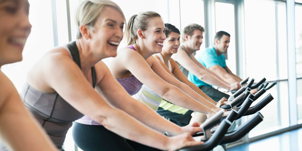Exercising with friends and colleagues can help to boost your motivation, says Lee-Anne. Photo / Getty