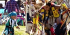The annual Powwow in Bismarck is a riot of colour and movement. Photo / Kelly Lynch