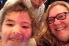 Nicola Colenso with partner Rick Murray and daughter Yasmin. Photo: Nicola Colenso/Facebook