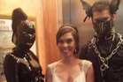 The unusual wedding pic quickly went viral. Photo / Imgur