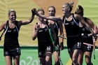 Footage from Sky. The women's Black Sticks have helped New Zealand finally beat Australia at an Olympic event at the Rio Olympics.