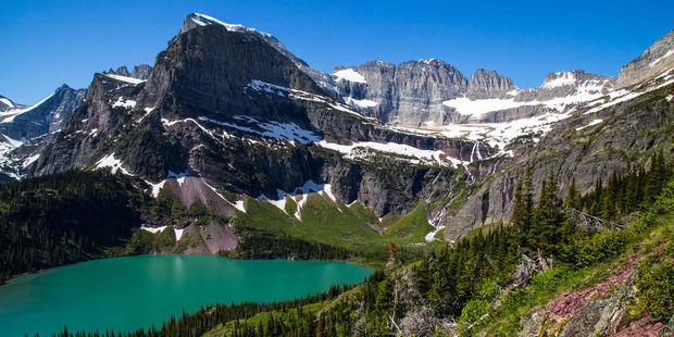 Beautiful Glacier National Park in Montana. Photo / 123RF