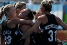 New Zealand's women's Black Sticks have beaten Australia 4-2 in their Olympic quarter-final match this morning.