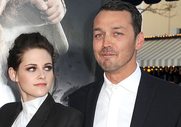 Kristen Stewart and Snow White and the Huntsman director Rupert Sanders. Photo / Getty Images