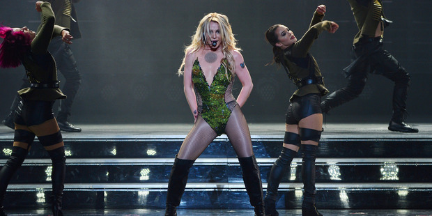 Three nights a week, at Planet Hollywood Resort & Casino in Las Vegas, Britney Spears gives them what they want. Photo / Denise Truscello