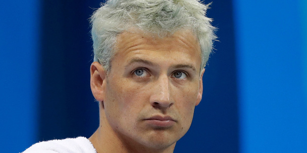 Loading A Brazilian police official says Ryan Lochte fabricated a story about being robbed at gunpoint in Rio de Janeiro. Photo / AP
