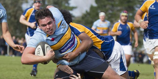Mt Albert Grammar player Robert Cobb. Photo / Nick Reed