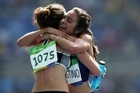 When kiwi distance runner Nikki Hamblin tripped and fell during her 5000 metre heat this morning her Olympic dream appeared to be over, but what happened next propelled her, and a fellow runner she had never met, into the global spotlight, showcasing what the Olympics should be about - spirit.