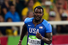 US sprinter Justin Gatlin in the 200m semi-final at the 2016 Rio Olympics. Photo / Photosport